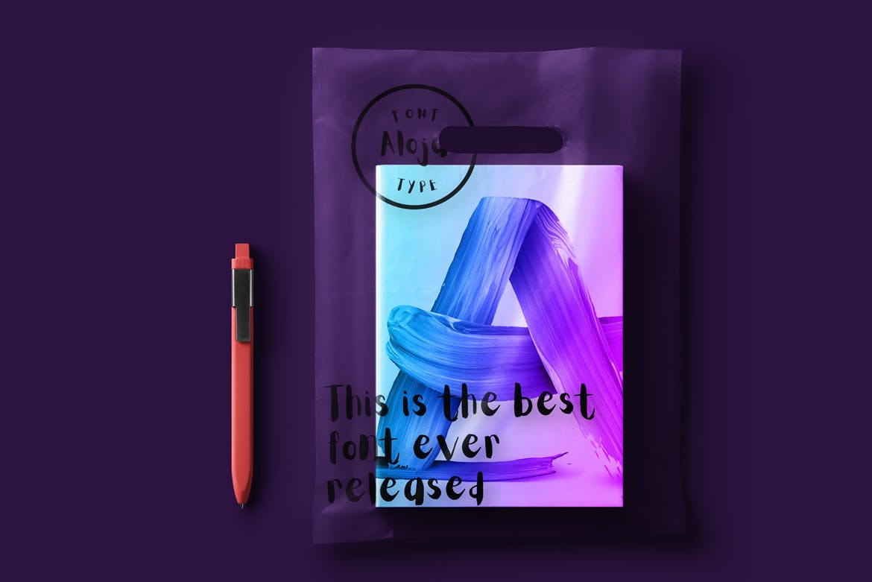 80个油画色彩笔触纹理材质装饰Paint Brush Strokes插图(6)