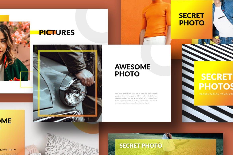 旅游主题品牌宣传PPT幻灯片模板Scret Google Slide插图(6)