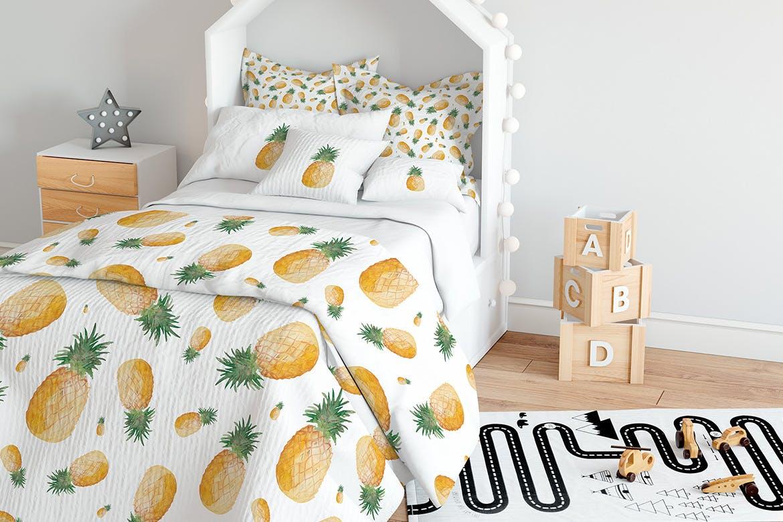 20个手绘水彩水果图案纹理花纹手机壳装饰图案纹理Watercolor Fruit Patterns插图(6)