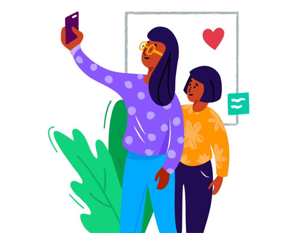 10个手绘扁平风的艺术作品插画Colourful Fun Illustrations插图(7)