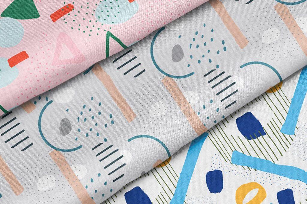高端文艺企业品牌VI辅助图形装饰图案下载Delicious Patterns Pack Bonus插图(7)