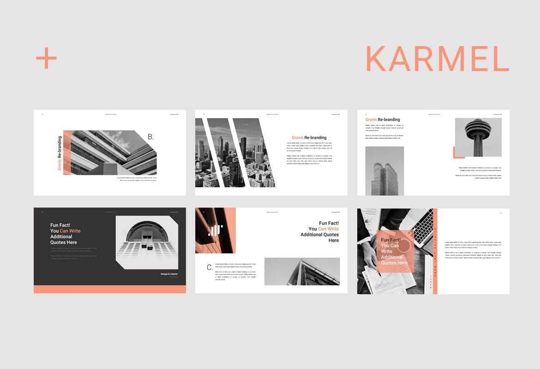 跨国企业品牌主题介绍幻灯片模板Karmel Keynote插图(7)