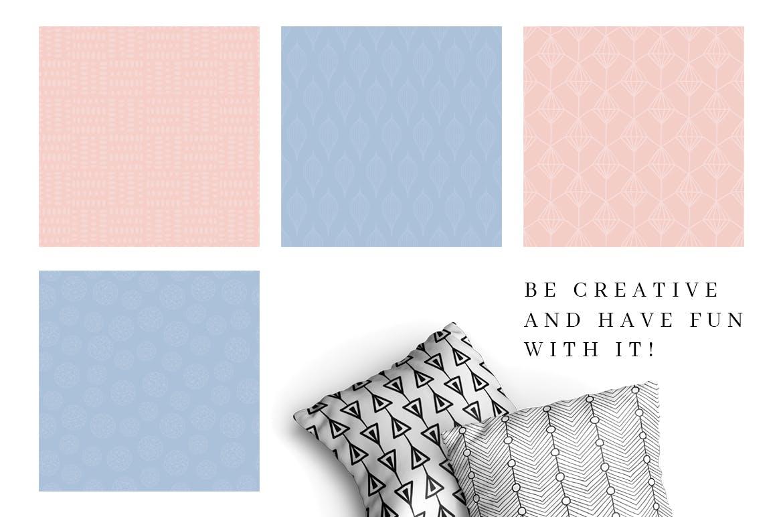 食品品牌包装装饰图案纹理素材模板MALINA 36 Seamless Pattern插图(7)