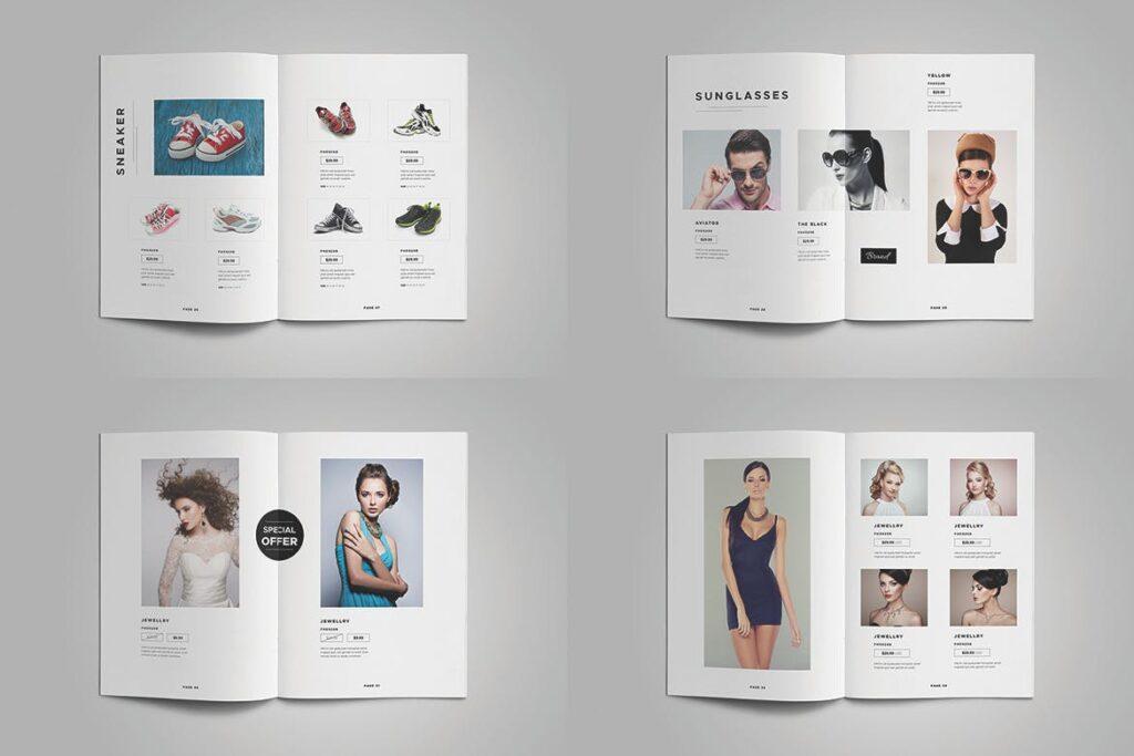 时尚服装/产品目录画册模板Product Catalog Template插图(7)
