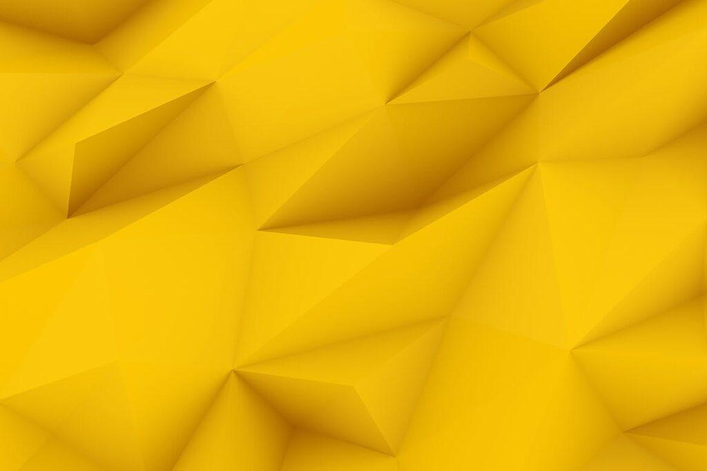 抽象简约几何构成背景高清图片下载Yellow Polygon Backgrounds插图(7)