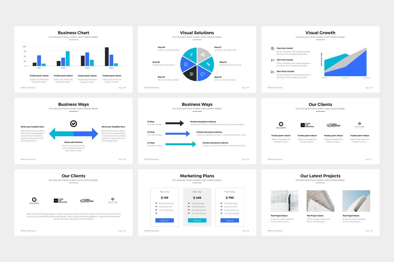 产品提案市场销售数据汇报BizPro Google Slide Presentation Template插图(8)