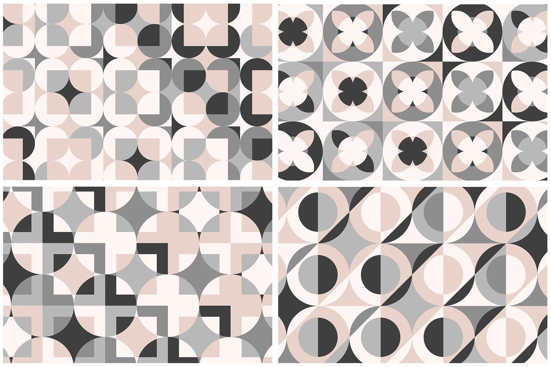 布艺面料装饰纹理图案花纹品牌辅助图形Geometric Play Patterns Tiles插图(8)