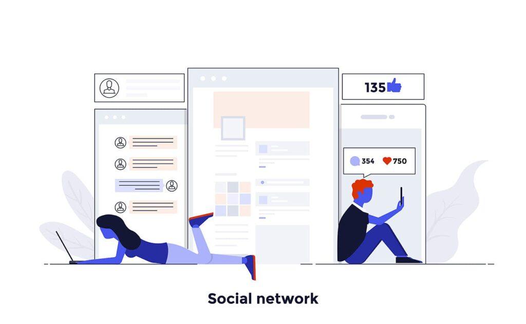 现代扁平化的设计理念和经营理念网站插图Modern Flat Design People And Business Concepts Uz9yxc插图(8)
