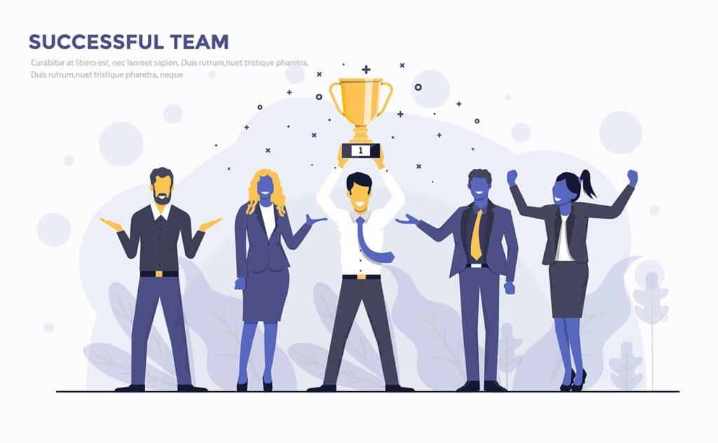 多场景应用主题扁平化插图创意设计Modern Flat design people and Business concepts 2插图(8)
