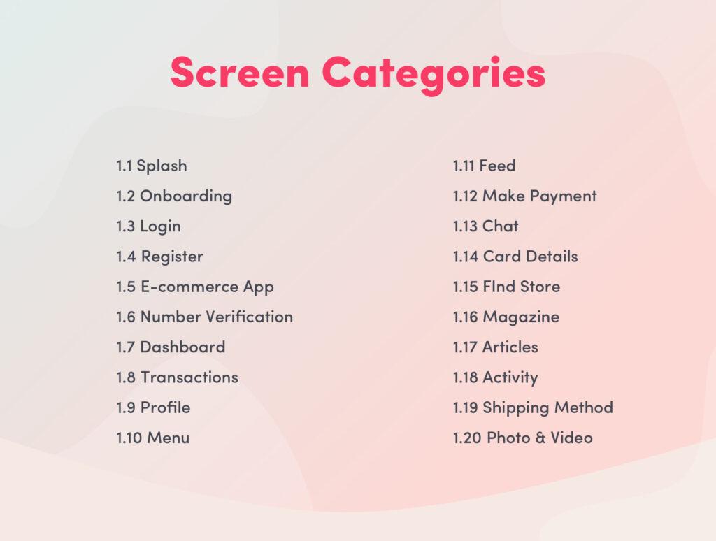 电子商务主题购物概念UI界面设计套件素材Bright App UI Kit插图(2)