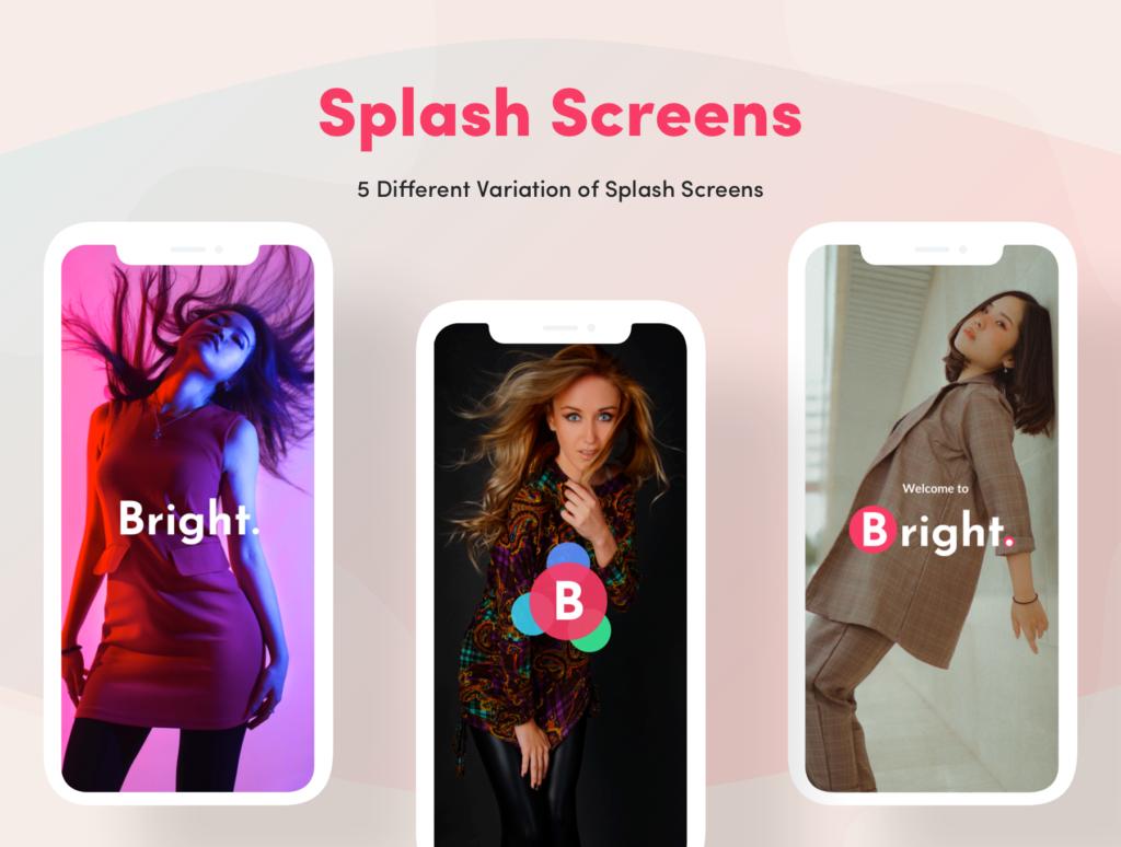 电子商务主题购物概念UI界面设计套件素材Bright App UI Kit插图(3)
