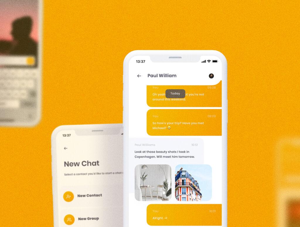 旅游社交类应用UI设计套件模型素材下载插图(11)