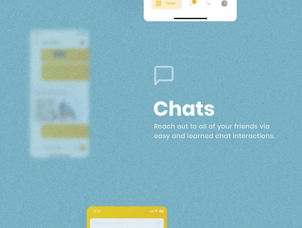 旅游社交类应用UI设计套件模型素材下载插图(4)