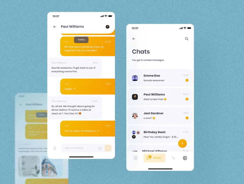 旅游社交类应用UI设计套件模型素材下载插图(5)