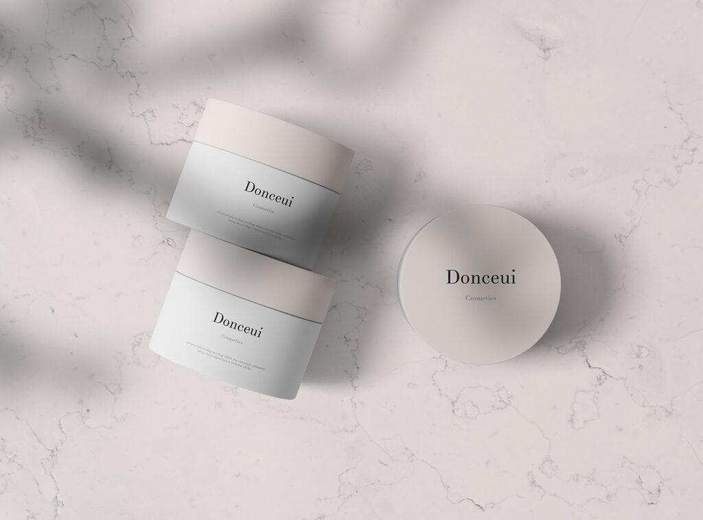 精致透视角度化妆品罐样机素材模版下载Cosmetic Jars Mockup插图