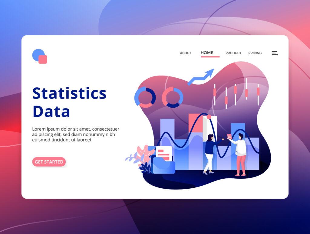 数据分类矢量插图素材模板下载chatuData Analysis Illustration插图(5)