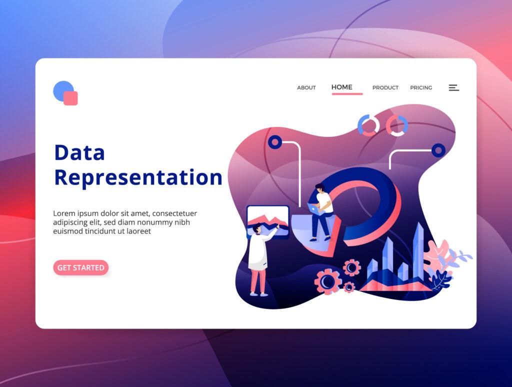 数据分类矢量插图素材模板下载chatuData Analysis Illustration插图(6)