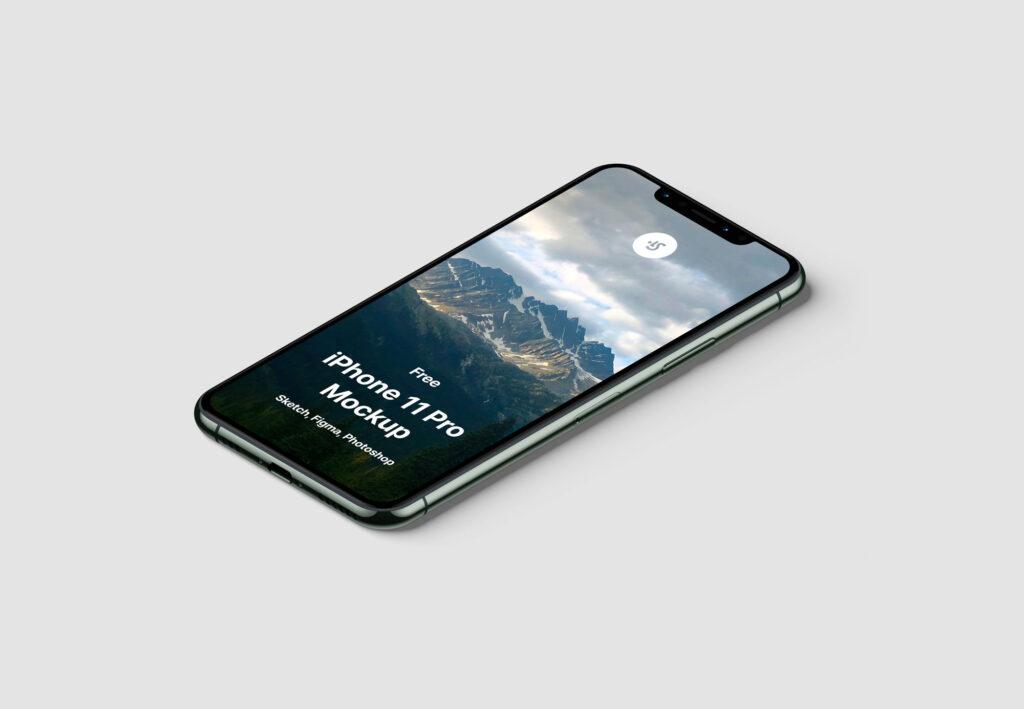 最新款苹果手机样机素材下载 iPhone 11 Mockup插图(2)