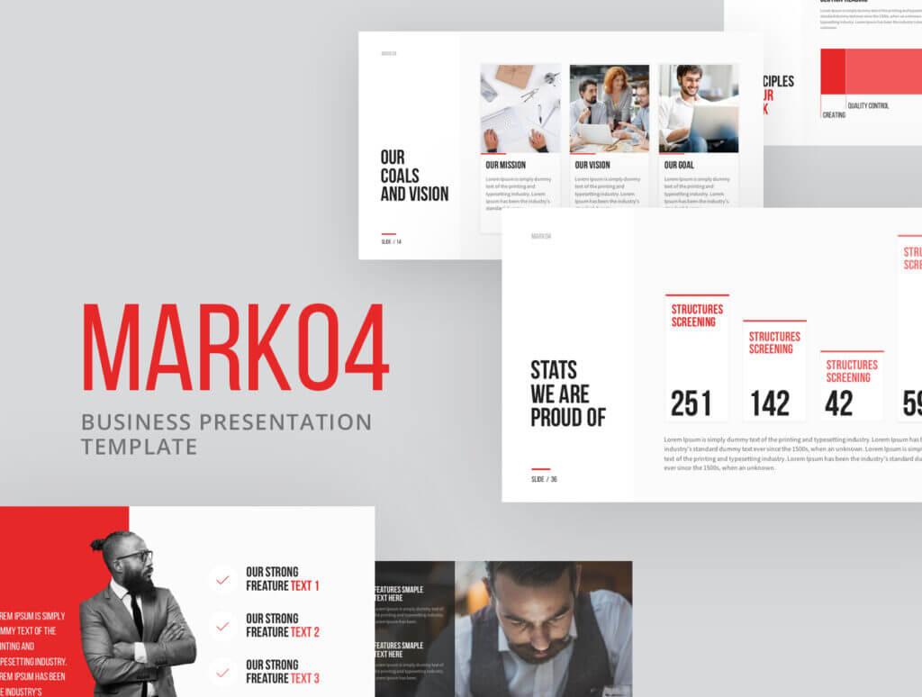 企业产品宣讲幻灯片模版演示素材下载Mark04插图