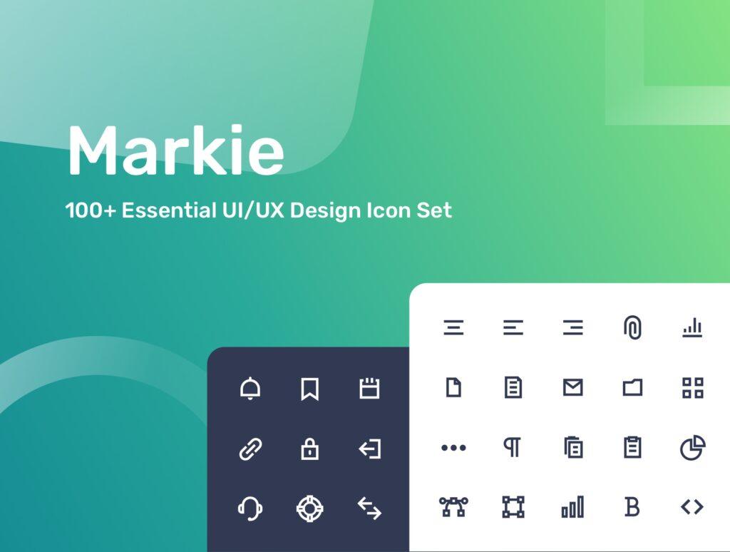 移动端应用程序图标素材下载Markie Icon Set插图