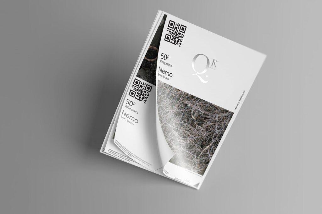 企业传单宣传册模型素材样机下载A4 A5 Poster Flyer Mockups V4插图
