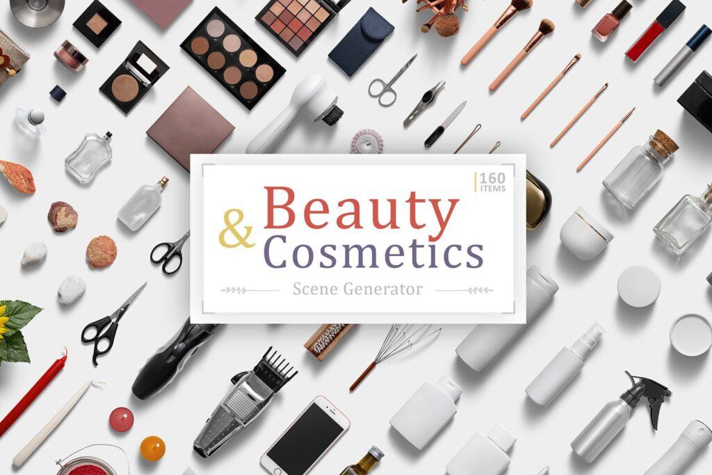 化妆品场景素材素材生成器Beauty Cosmetics Scene Generator插图