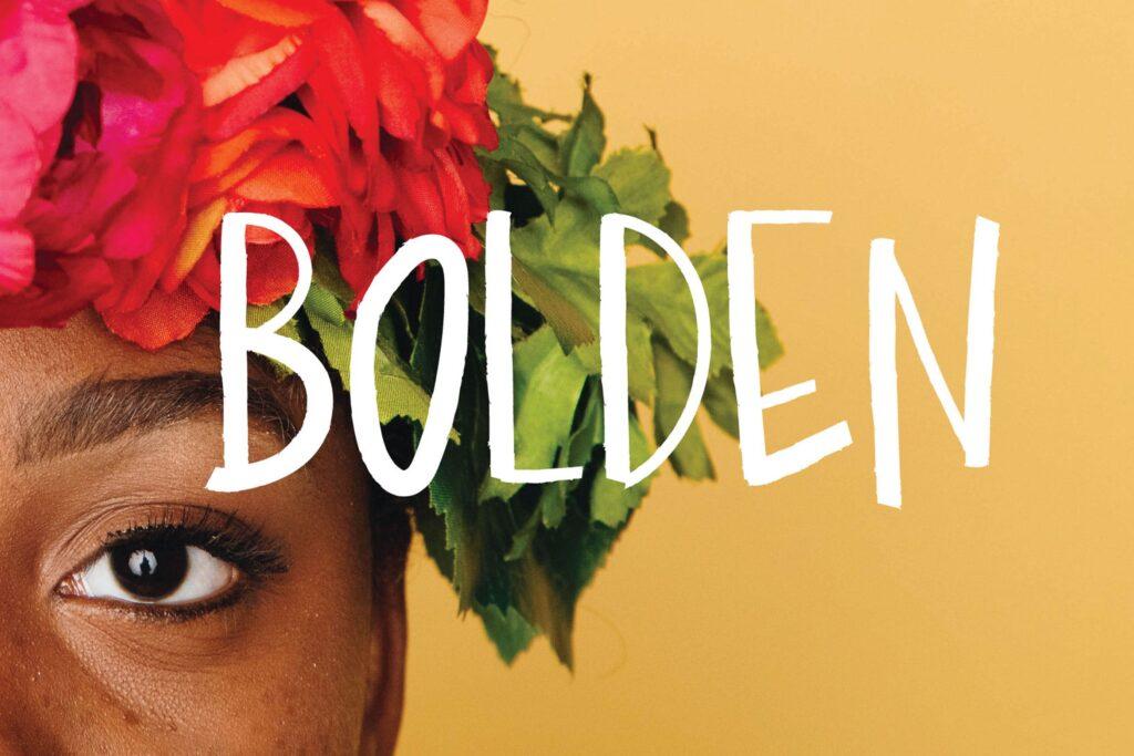 海报或t恤设计装饰手写无衬线英文字体下载Bolden插图