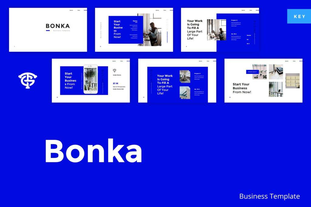 建筑设计类概念设计主题概念演讲PPT幻灯片模板Bonka Business Keynote插图