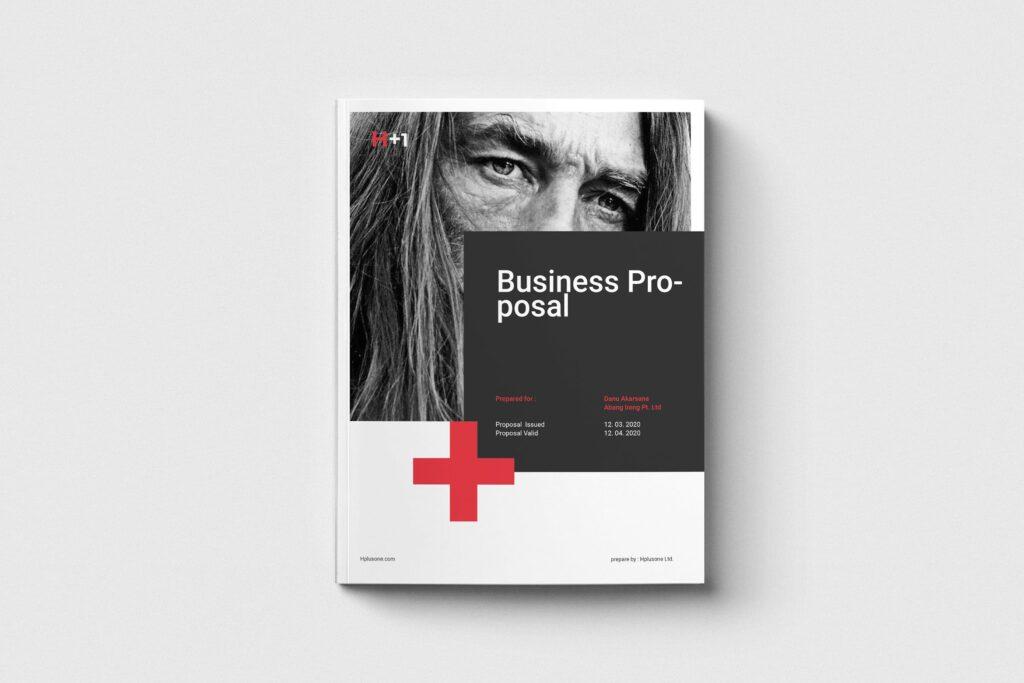 公司手册项目企划书画册模版素材Business Proposal插图
