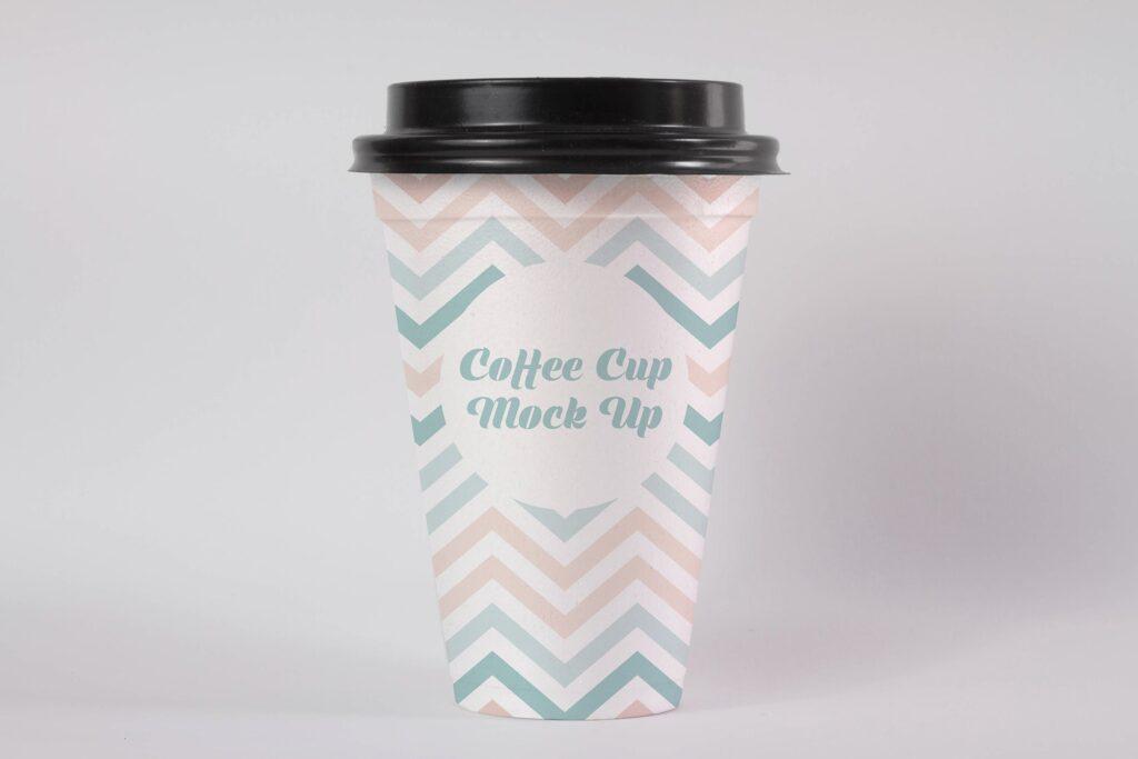 文艺咖热饮纸杯/咖啡杯模型样机素材Coffee Cup Mock Up HKEBC7插图
