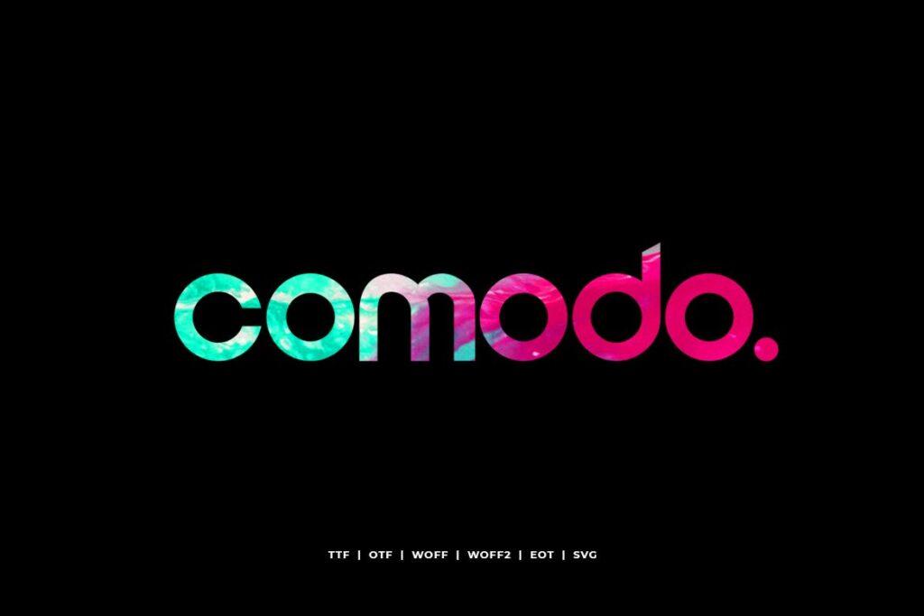 电影海报装饰英文手写字体下载Comodo Display Typeface WebFonts插图
