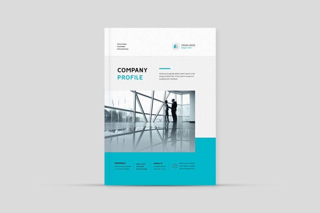 公司简介企业画册商务手册杂志模板素材Company Profile Z2NA6V插图