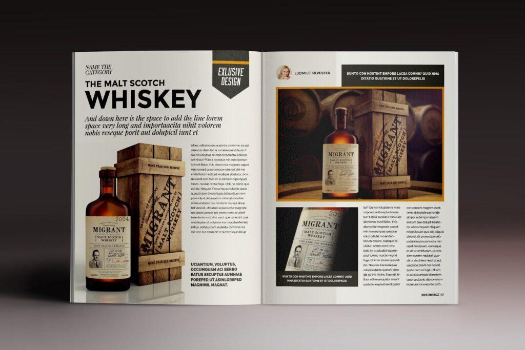 32页时代周刊画册杂志模板Des12n Magazine Indesign Template插图