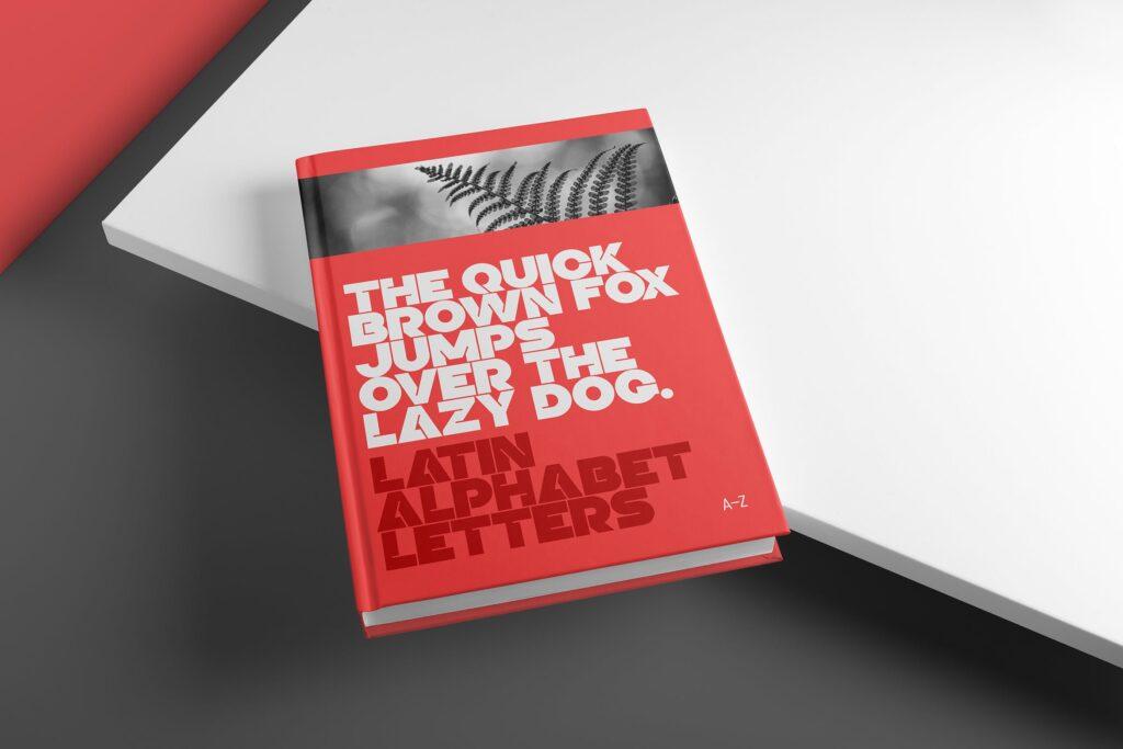 精装书硬卡纸封面PSD模型模板样机效果图Hardcover Book Mockup Vol 1插图
