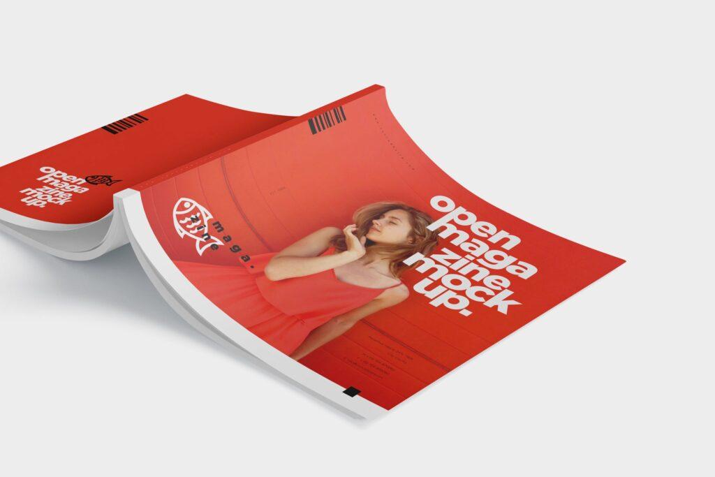 精致文艺杂志书籍封面内页样机模型下载8ydgm9u插图