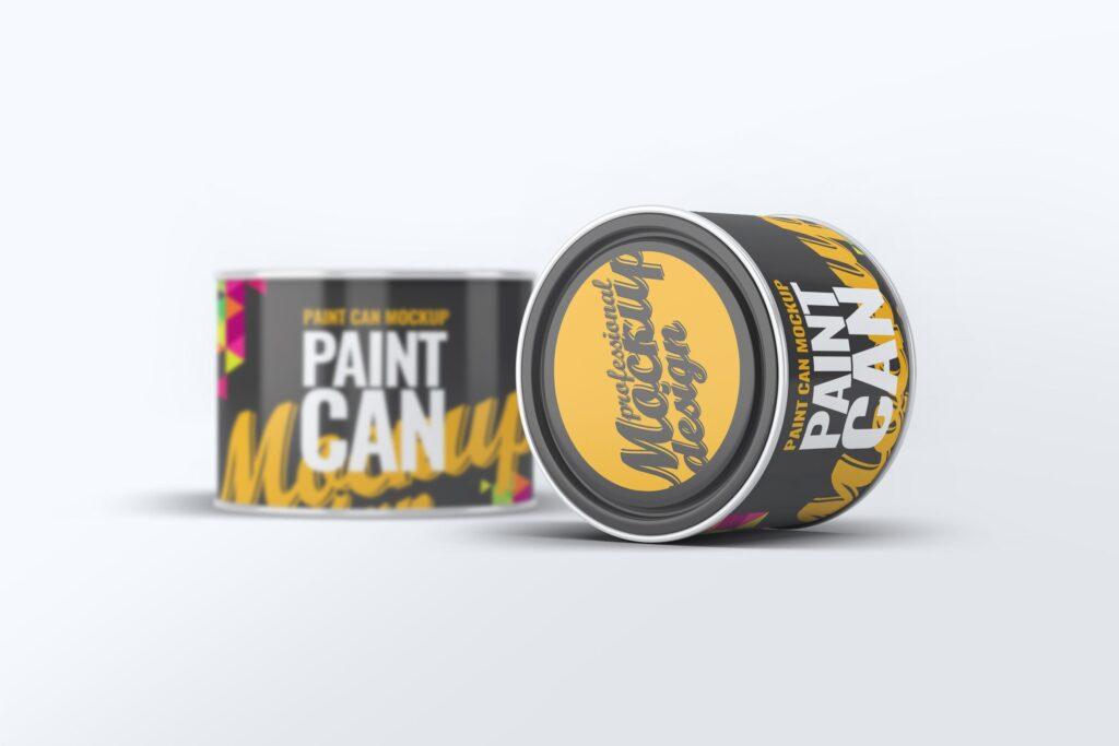 高级油漆/街头艺术喷绘样机素材下载Paint Can Mock Up v2 24M89Y插图