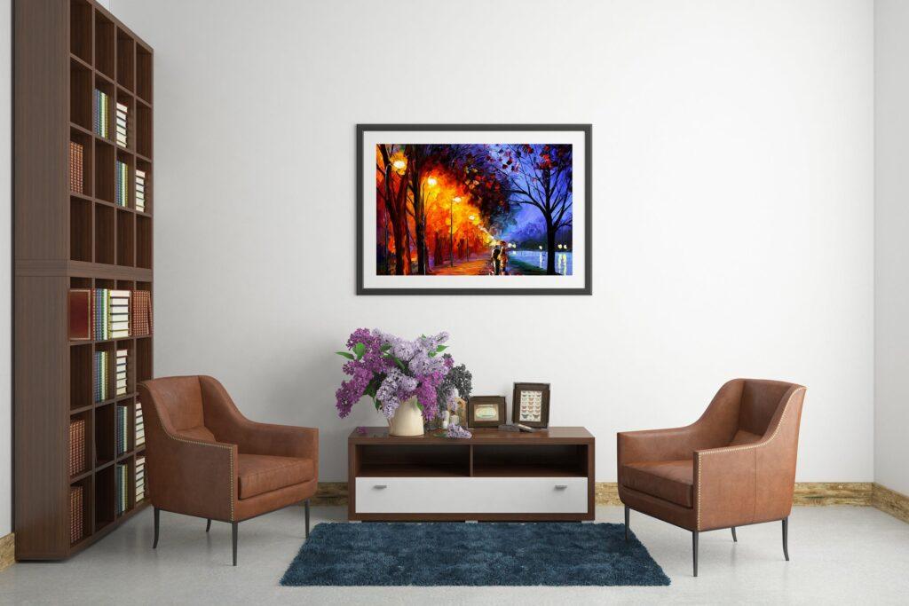 古典室内风格装饰相框模型样机效果图Picture Art Mockup Vol 9插图