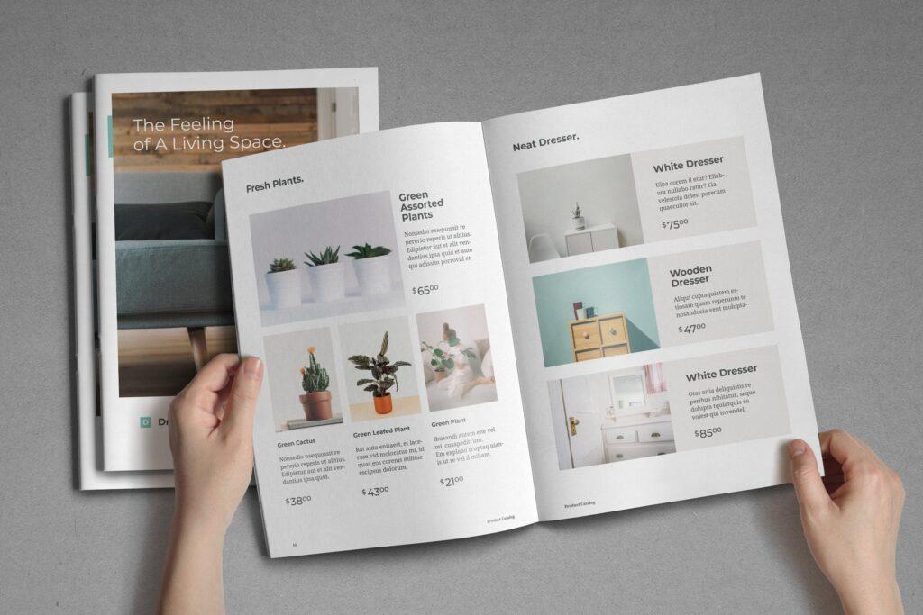 现代专业的产品目录小册子模板素材Product Catalog Brochure插图