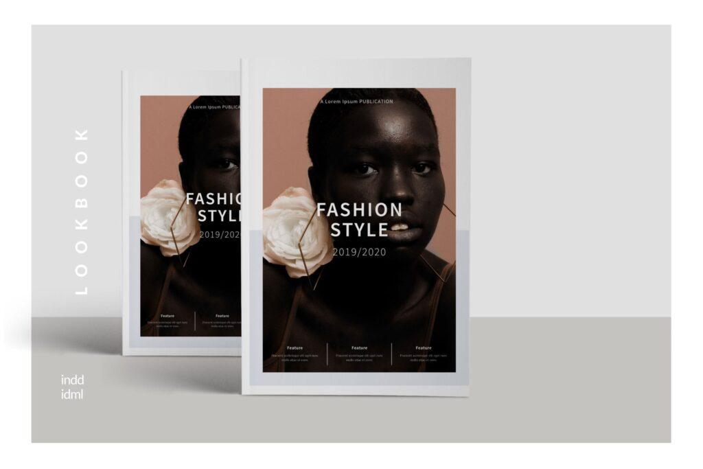 工作室室内设计行业产品目录展示画册Style Fashion Brochure Minimal Company Agency插图