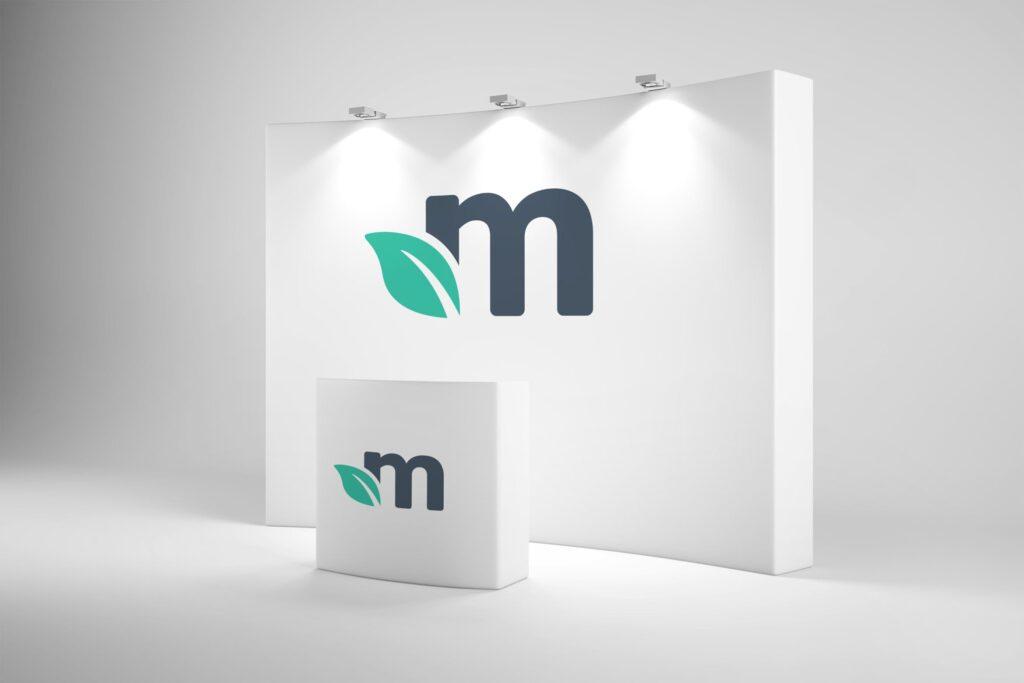 企业前台logo文化墙模型/场景品牌模型样机素材下载Trade Show Booth Mockups插图