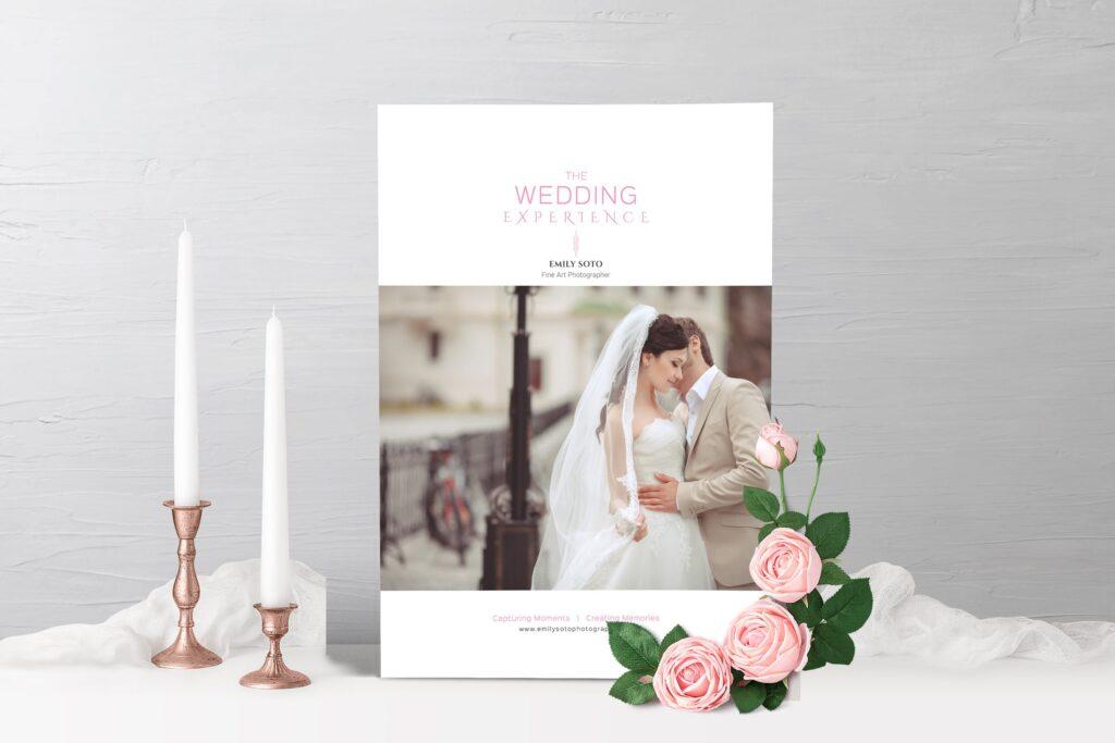 婚纱摄影价格指南/婚纱摄影工作室杂志画册模板Wedding Photography Price Guide插图