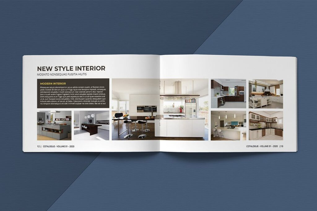 横版家居室内设计画册杂志模版A5 Interior Catalogue ASFEWQ插图(9)