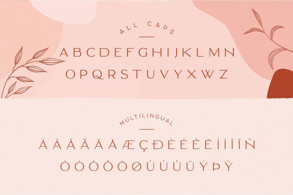 服装品牌装饰手写字体下载Classy Marisa Elegant Typeface插图(8)