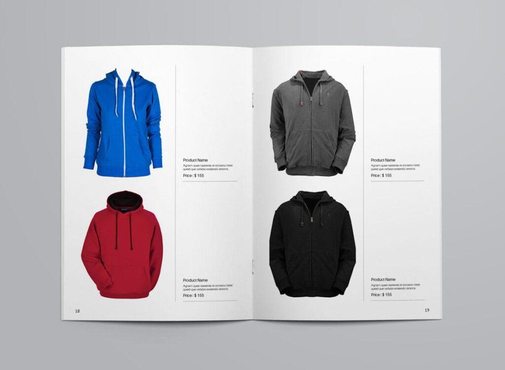 女性时尚用品产品目录画册模板InDesign Product Catalogue Template插图(9)