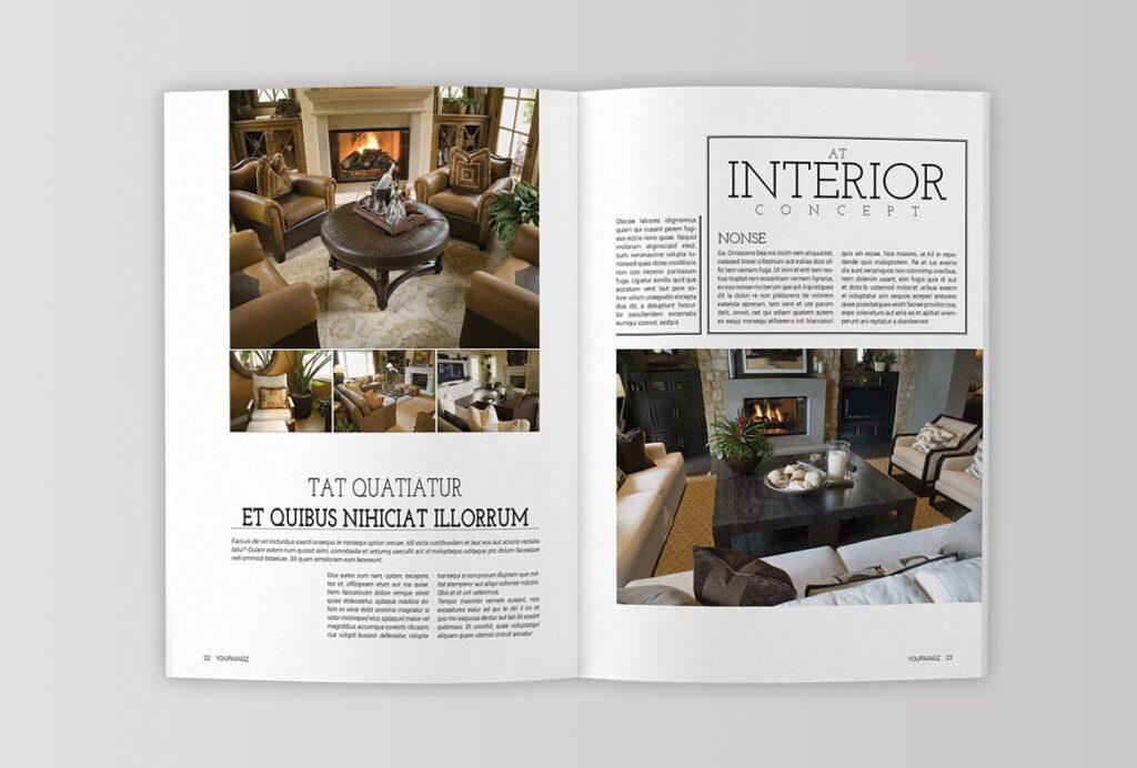 建筑行业/建筑设计作品介绍模板Indesign Magazine Template插图(9)