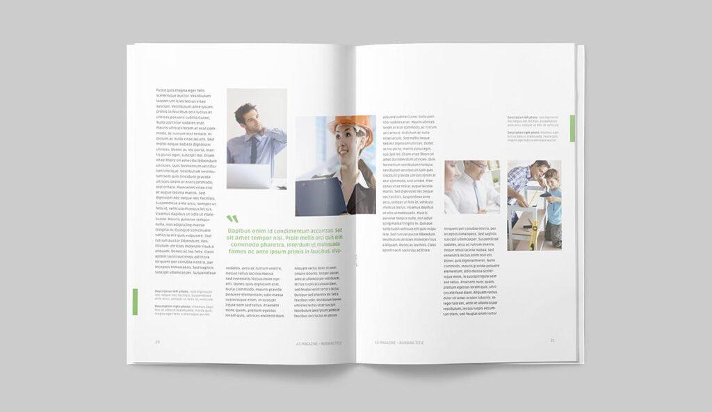 高端医学周刊/医疗咨询杂志画册模板Minimal Magazine插图(9)