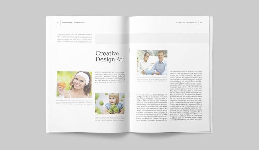 企业商务多用途/企业规划手册模板Magazine Template插图(9)