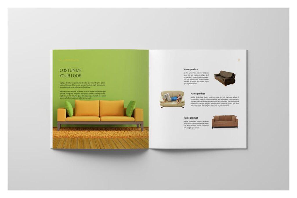 多用途目录/小册子/投资组合画册杂志模板Portfolio Brochure Catalogs插图(8)