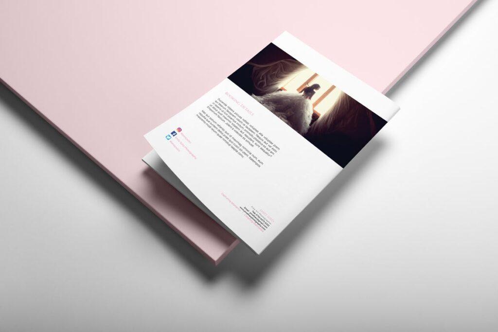 婚纱摄影价格指南/婚纱摄影工作室杂志画册模板Wedding Photography Price Guide插图(9)
