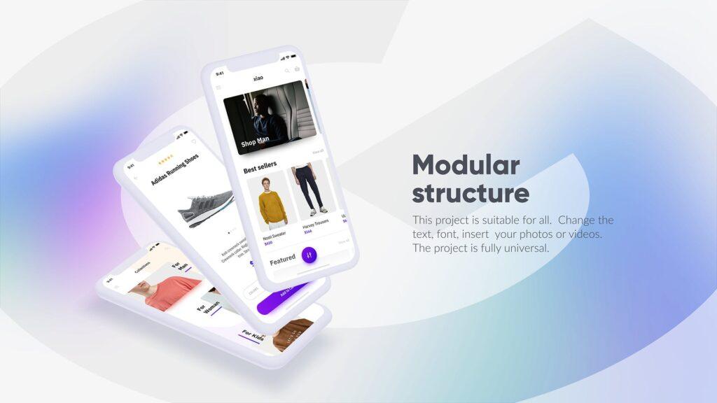 白色苹果手机多种展示模型样机下载White iPhone Mockup插图(9)